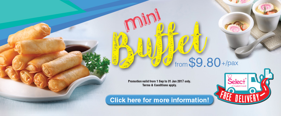 Mini Buffet Promotion